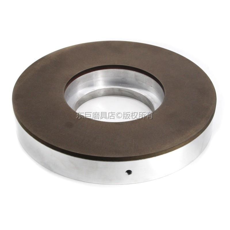 东巨高精度CBN树脂研磨盘 弹簧钢用耐磨锋利 外径400毫米