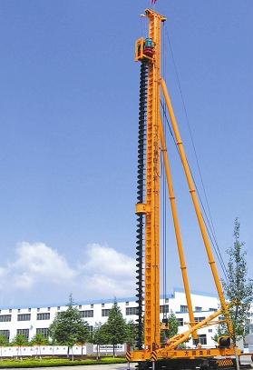 桩工机械-JZB60步履式桩机