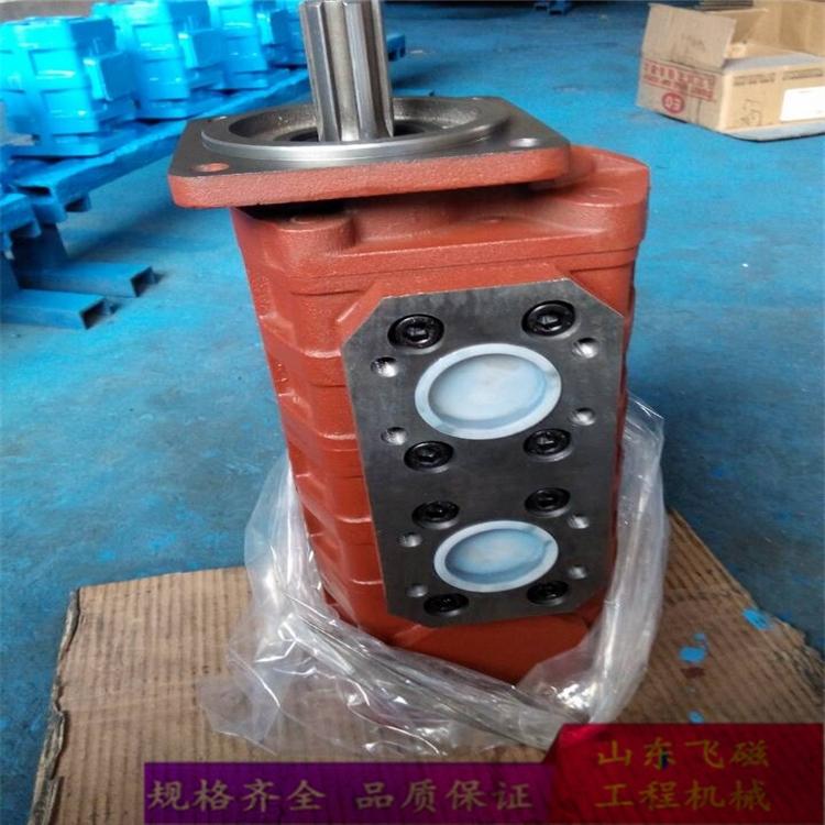 临工装载机专用液压齿轮泵CBGJ280/10济南液压泵厂