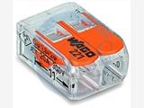 【原装正品】222改版连接器 两位免螺丝快速接线端子WAGO221-412