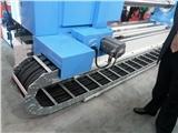 压滤机进料口管钢铝拖链