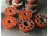 西安周至105x42水泵联轴器爪式带中间节连轴器