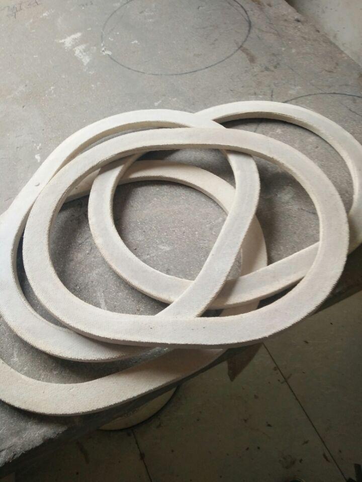 渝水窑炉口包覆垫/石棉包覆垫/四氟垫厂价销售