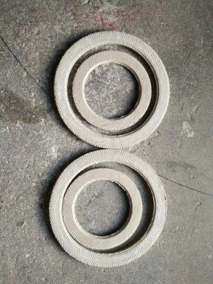 江汉窑炉口包覆垫/石棉包覆垫/四氟垫生产厂家