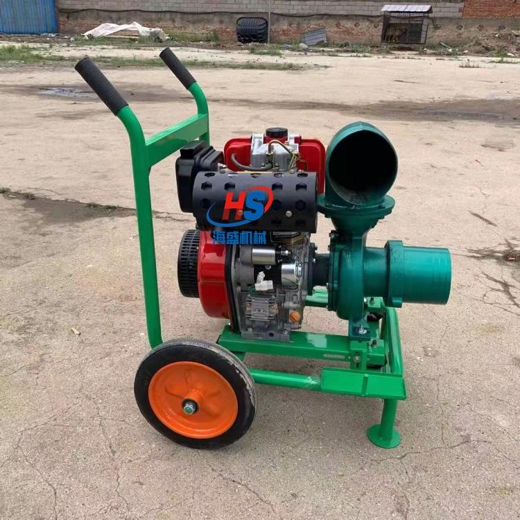 农用厂房柴油动力污水清水抽水泵 2寸3寸4寸5寸6寸柴油风冷手提抽水泵