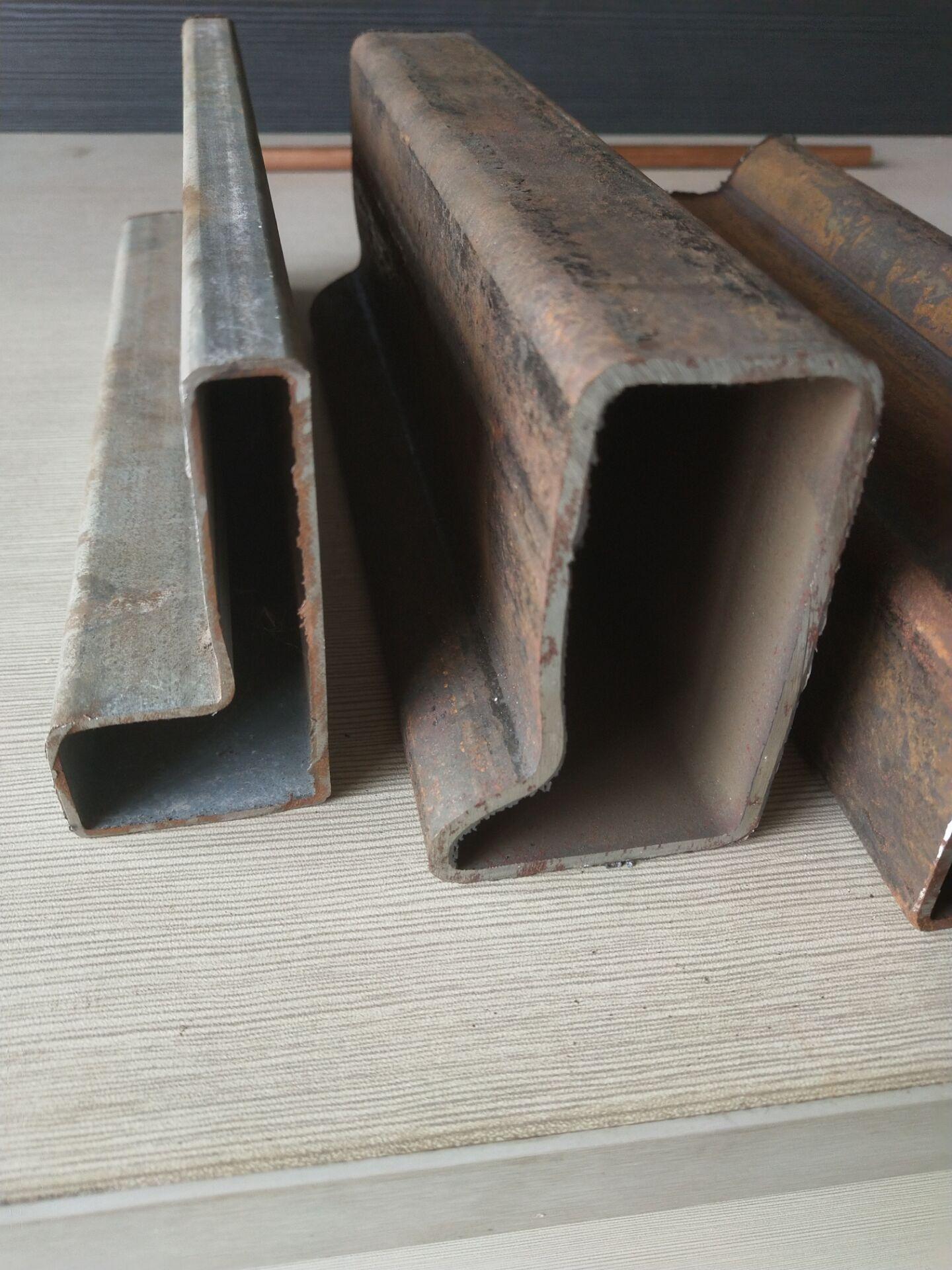 异形钢管p形管。