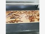 生态板背景墙3D立体打印机 竹木纤维板uv打印机 大幅面高清平板机