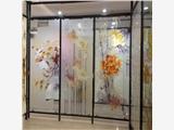 茂名市 家居酒店包间艺术屏风隔断墙画平板打印机