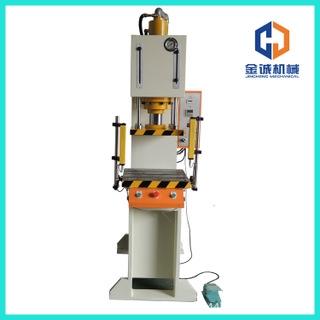 厂家供应JCCQD-10TS悬臂式快速弓形液压机整体坚固开式单柱油压机
