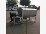 新款猪饲料搅拌机型号 卧式饲料混料机价格