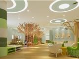 唐山幼儿园装修设计创意大气推荐金鸽子