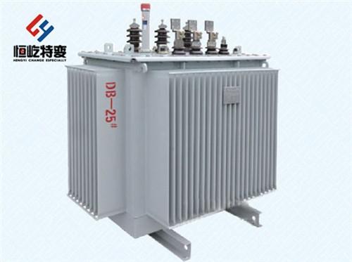 S11油浸式电力变压器 江苏恒屹变压器有限企业 厂家直销