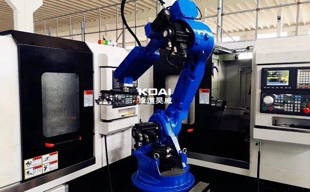 六轴机器人推动生产车间的自动化生产