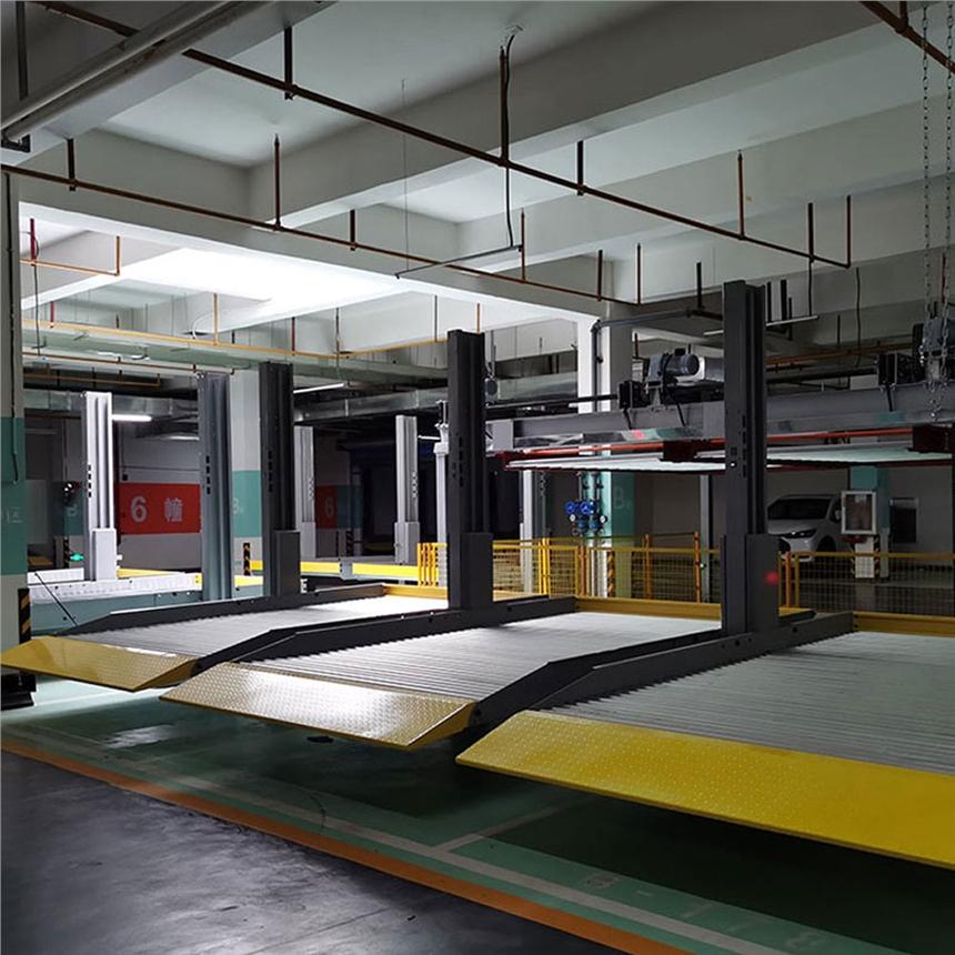 四川壤塘立体停车设备租赁 子母机械立体车库出租 莱贝立体停车设备收购