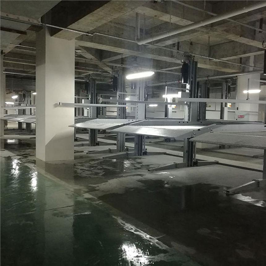 云南省临沧立体停车设备租赁 双柱机械停车场出租 莱贝停车设备费用