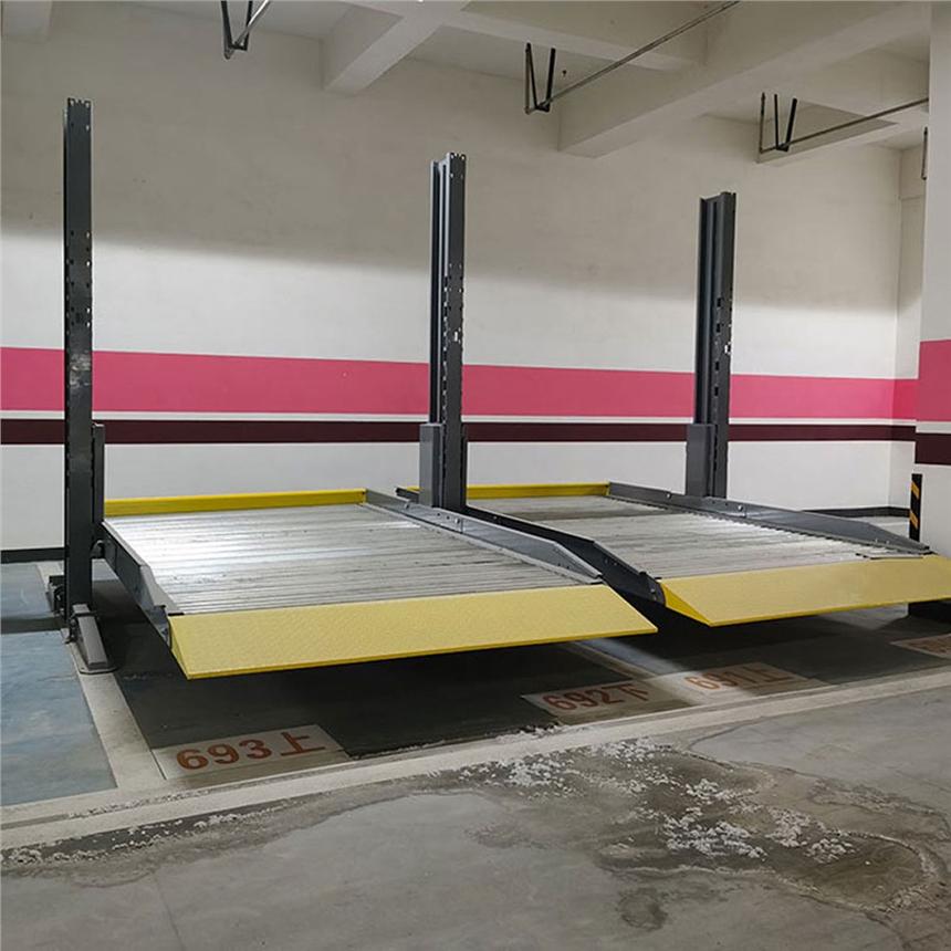 宜宾市立体停车设备租赁 子母停车位出租 莱贝立体停车库价格