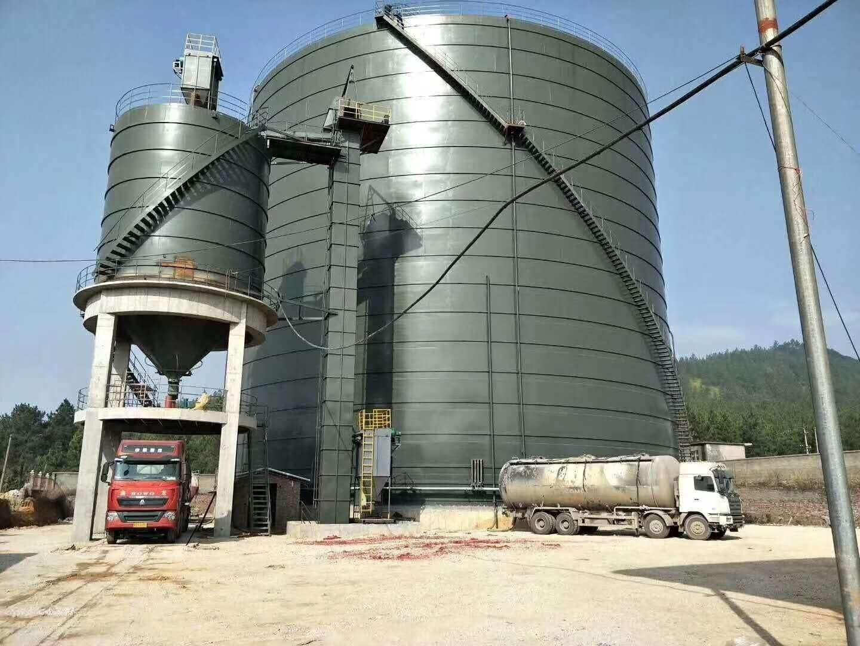 湖南湘西自治州钢板仓永诺钢板仓安装专业设计