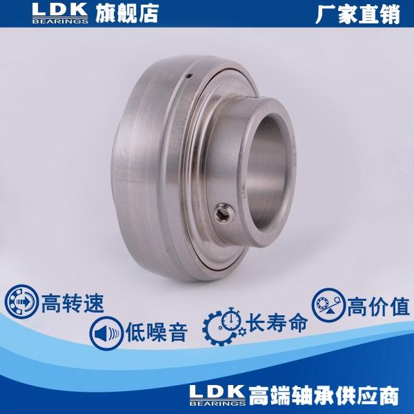 带定丝锁紧的不锈钢外球面轴承 SUC206 SUC206L3