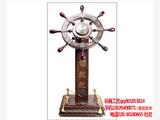 山西供应木质领航舵定制 太原开业礼品定做  周年庆典纪念品 红木摆件厂家