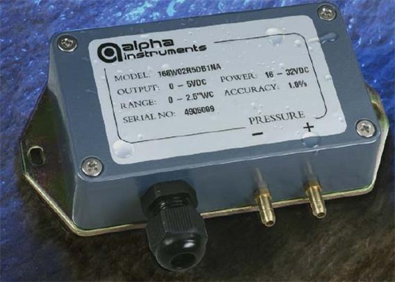 阿尔法alpha本安防爆型微差压传感器/变送器Model 168/168MR