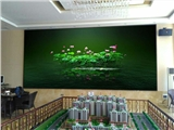 公司展厅装p2LED显示屏生产厂家价格明细