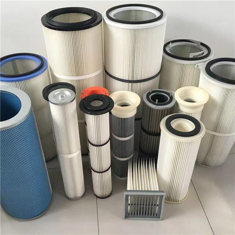 除尘设备滤筒滤芯粉尘焊烟除尘滤筒滤芯