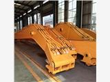 卡特336挖机高拆三节20米加长臂 码头散货装卸加长臂 深坑挖掘长臂厂家