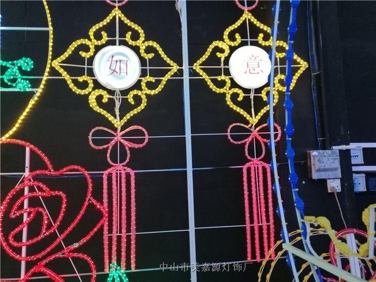 西湖灯珠发光造型灯,两面发光造型灯,灯杆亮化装饰灯低价销售