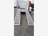 厂家直销久达大象牌铝梯 高强度防滑铝梯 可承载6吨挖掘机