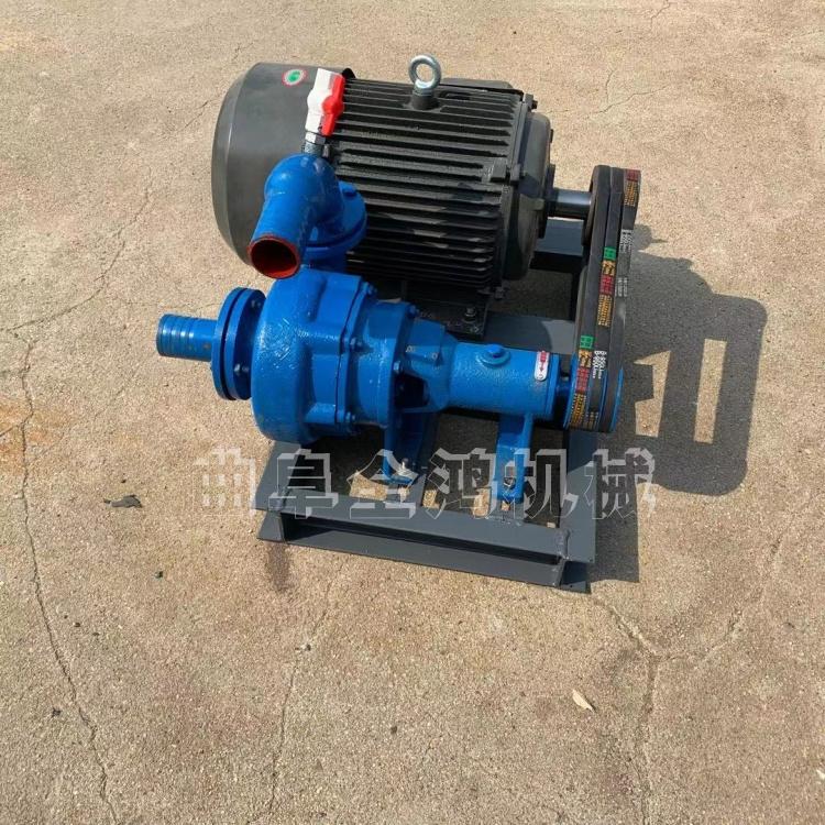 河道电动吸沙泵柴油20马力铸铁抽沙泵高扬程工程吸沙泵