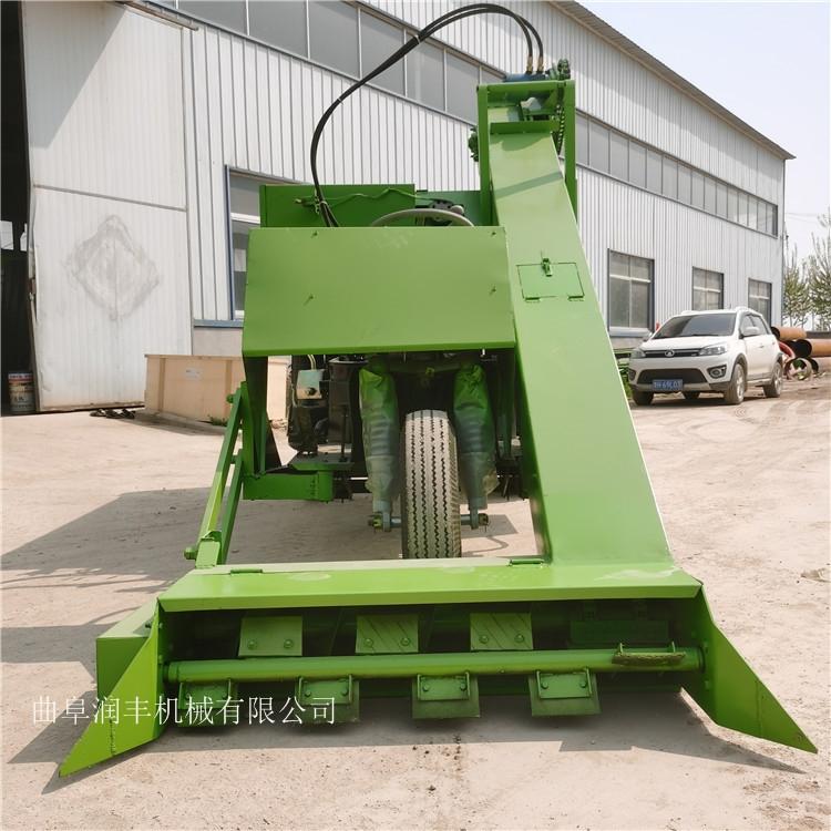 柴油大马力清粪车卧床羊场用搅草机装卸一体的铲粪机