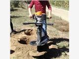 汽油手提挖坑机 便捷式栽树挖坑机