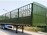 安迪牌WZY9400CLX高强度钢超轻型仓栅式运输半挂车