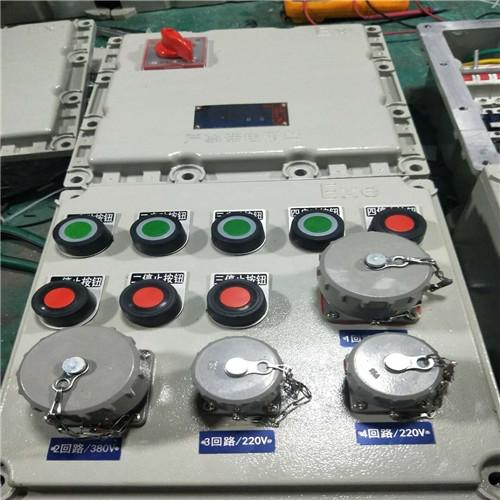 洗煤厂动力检修防爆配电箱