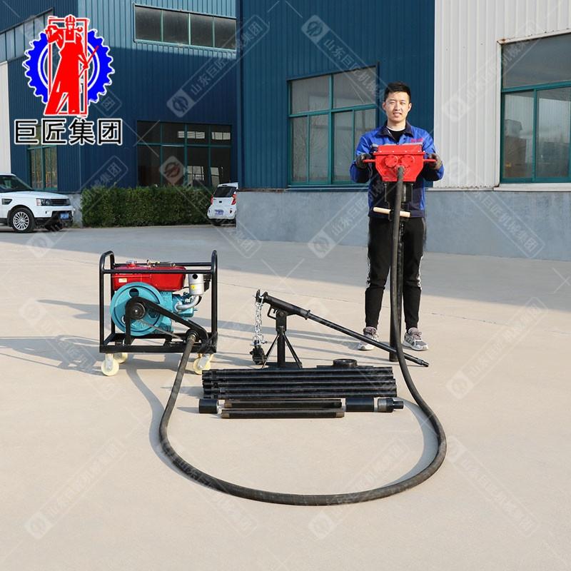 柴油机动力QTZ-4便携式取土钻机25米土壤检测