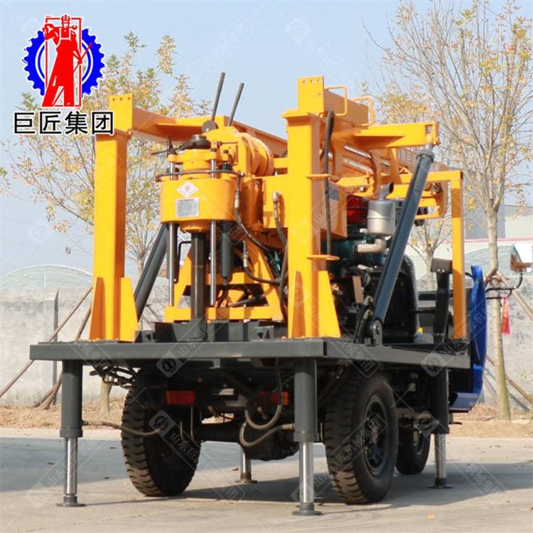 巨匠集团 XYC-200A三轮车载液压岩芯钻机百米勘探钻机移动方便
