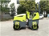 2.6吨座驾式双钢轮压路机 萨奥马达 汉萨泰普泵 压实宽度1.2米