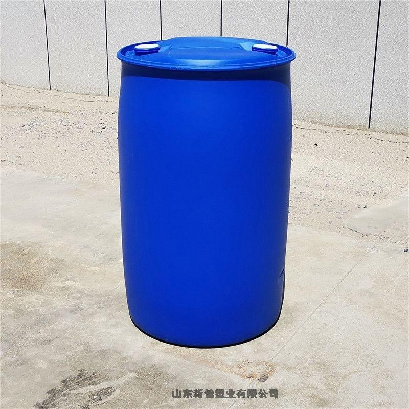 新佳塑业230升塑料桶250公斤化工桶230l单环桶生产厂家直销