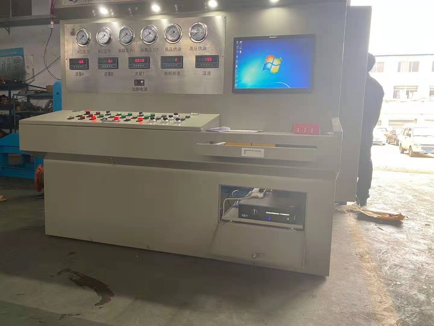 Vane Pump test-bed, hydraulic disassembly test-bed, pump test-bed