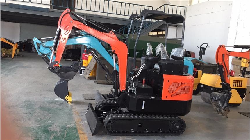 全新微型挖掘机农用果园 工程小挖机家用挖土钩机 小型挖掘机