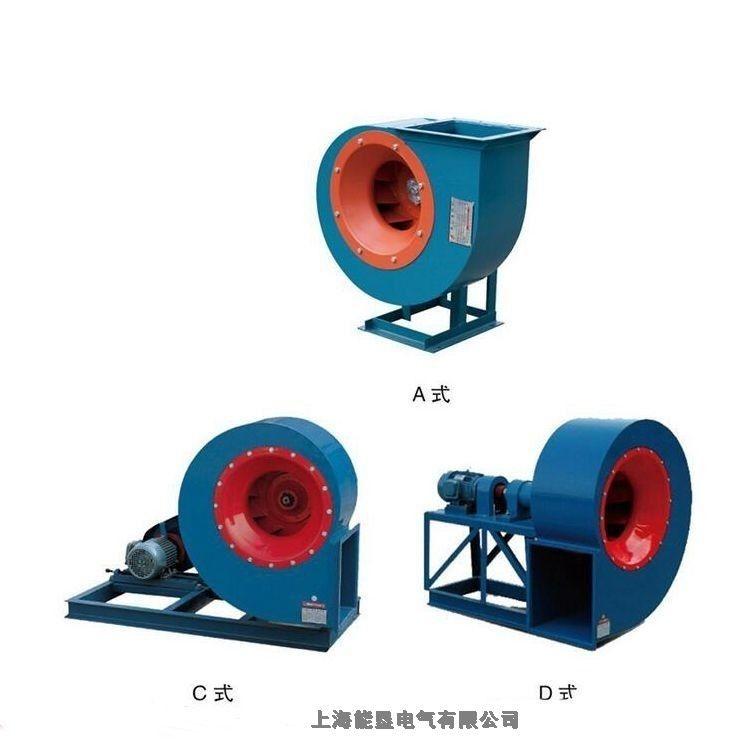熔喷布风机口罩机风机4-72-12 4C 1.1KW粮库专用风机