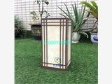 中式草坪小品特色簡約草地燈草坪燈噴漆柱子燈戶外柱頭地燈水景燈