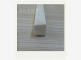专供白色耐高温硅胶发泡密封条实心方形阻燃硅胶制品发泡条