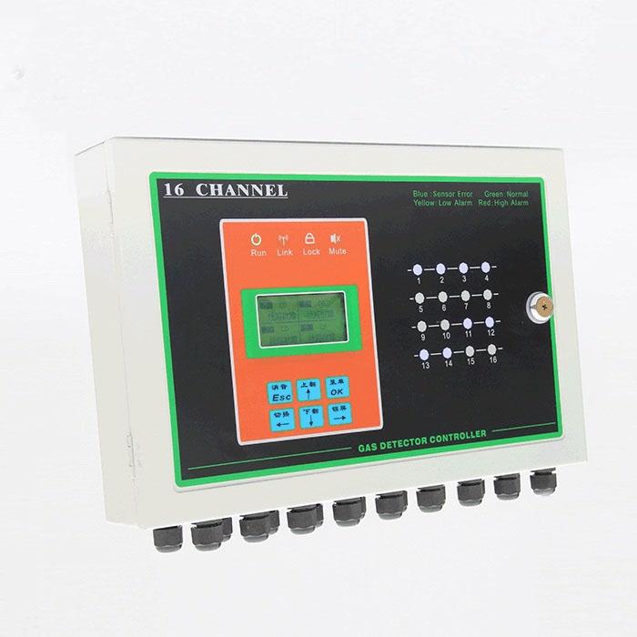工业用防爆型氢气H2泄漏报警器 固定式声光报警气体报警控制器