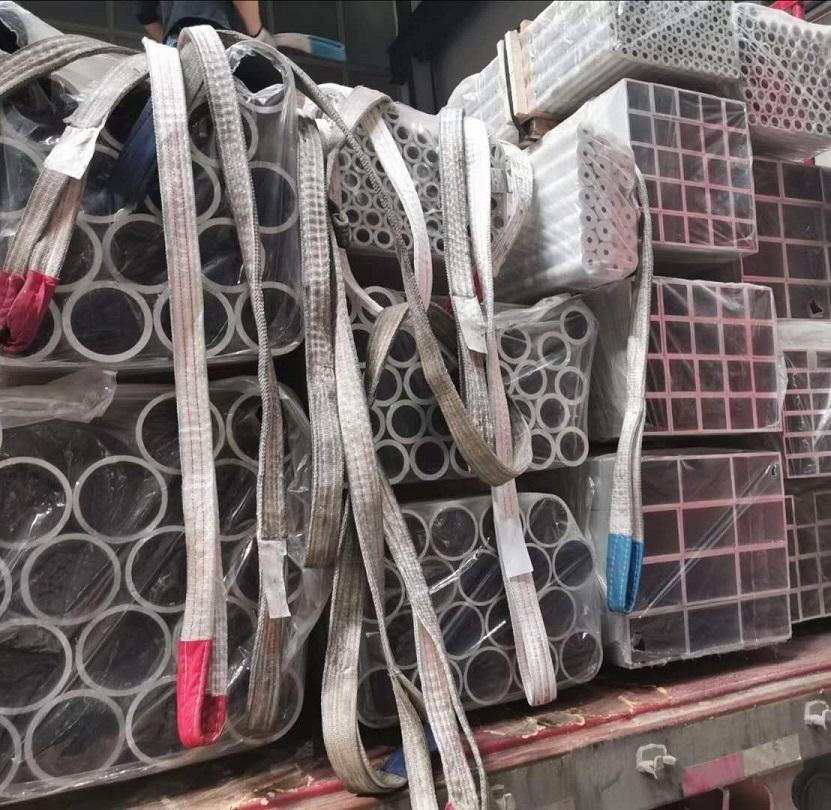 天津无缝矩形铝管信誉保证