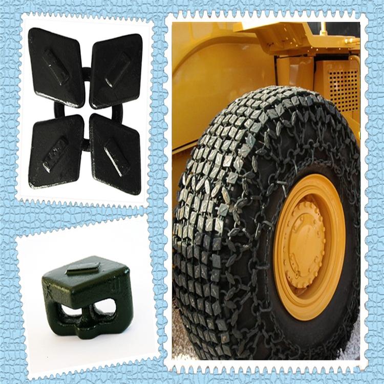 铲车轮胎防护链 压路机防滑链价格优惠