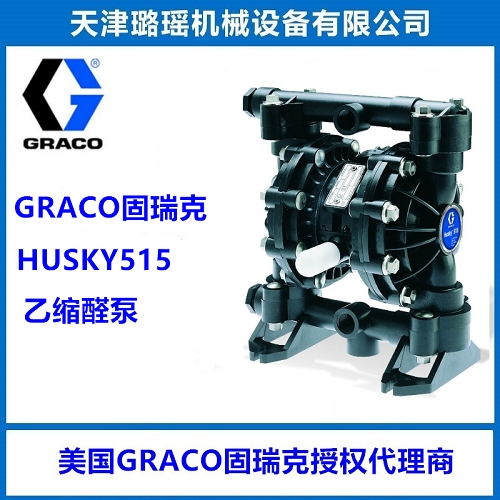 The Husky 515 air-operated double diaphragm pump