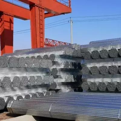 热镀锌钢管生产厂家32*1.1天津牛头牌热镀锌管32*1.2飞龙牛头牌钢管