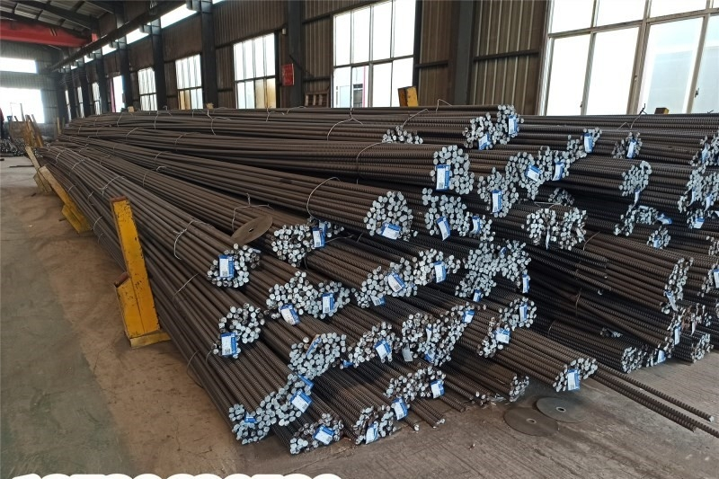 贵州高强度精轧螺纹钢筋40mm精轧螺纹钢筋锚具生产加工