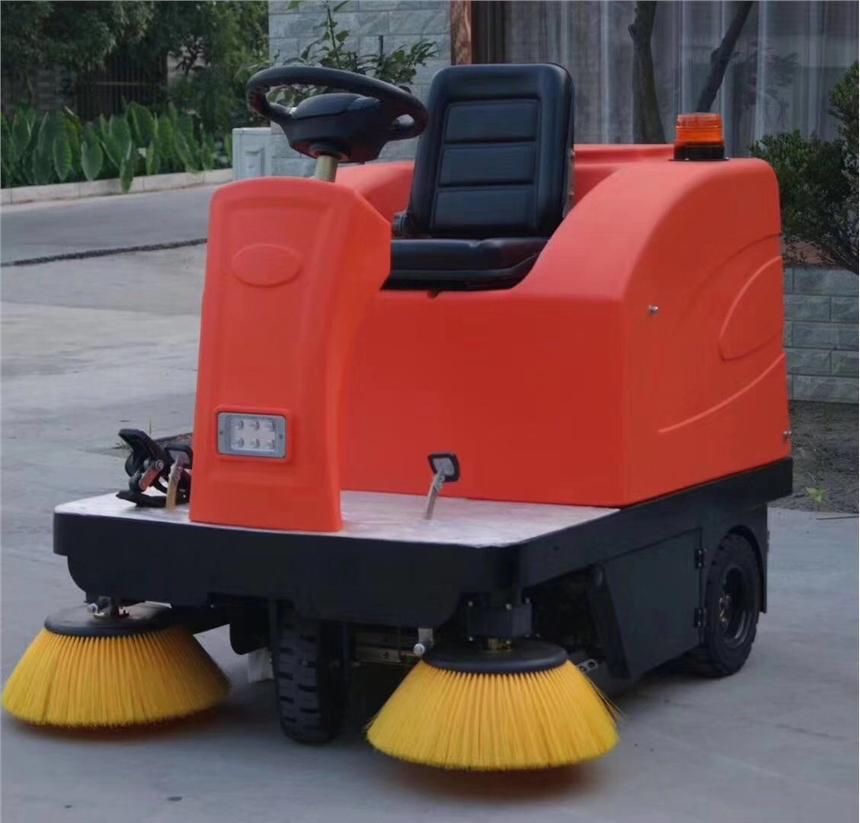 物业小区专用座驾电动扫地车洒水吸尘清扫机 厂家直销